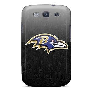 Unique Design Galaxy S3 Durable Tpu Case Cover Baltimore Ravens
