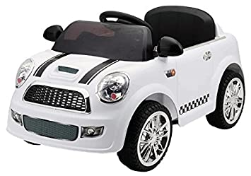 Batería Mini Coche Baby BlancoMando Infantil RcSch938Amazon 6v bfv6y7Yg