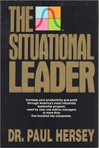 The Situational Leader Dr Paul Hersey Amazon Com Books