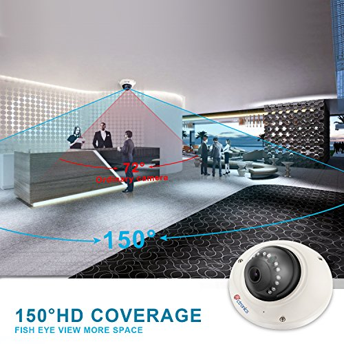 Ctronics Wireless WiFi Camera,720P Home Security Indoor