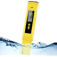 Digital pH Meter, Water PH Test Meter with 0.00-14.00ph Measure Range/PH Meter with ATC,Water Quality Tester for…