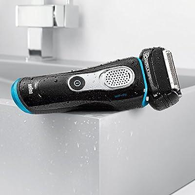 Braun Series 9 9040s - Afeitadora eléctrica con función Wet & Dry, color negro: Amazon.es: Salud y cuidado personal