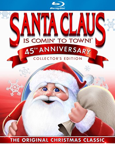 Santa Claus Is Comin' to Town [Blu-ray] (Best Bean Burgers Ever)