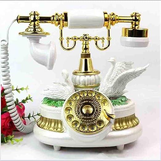 MICHEN Tocadiscos Europeo Antiguo Teléfono Retro Moda Antigua ...