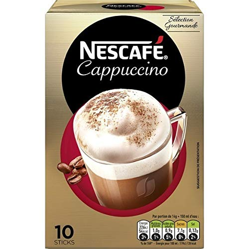 1 Packet Mix (Nescafe Cappuccino Intenso Packets - 14g - 10 ct)