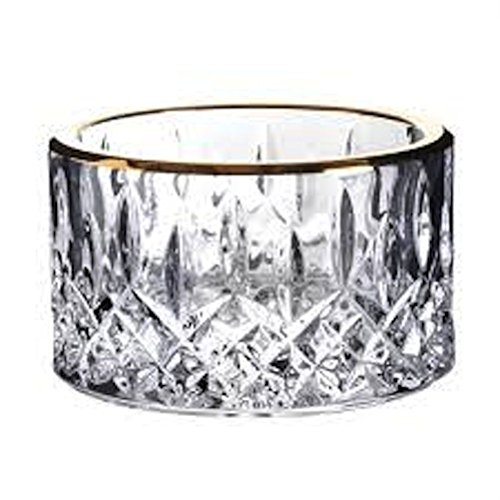 Waterford Crystal Lismore Gold Champagne Coaster Holder by Waterford by Waterford