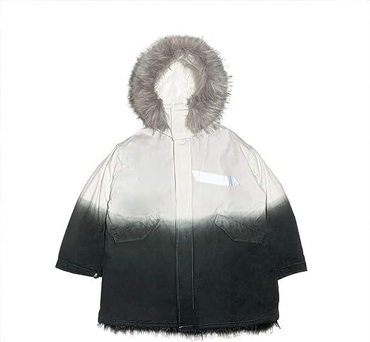 Abrigos Chaquetas Chaqueta de gradiente de algodón para hombres ...