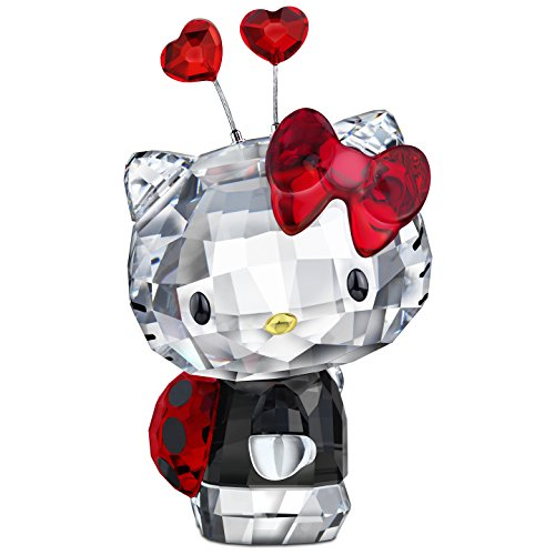 Swarovski Hello Kitty Ladybug Figurine