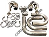 lsx turbo kit - Universal Single Turbo Manifold Header T4 Elbow Kit For LS1 LSx S13 S14