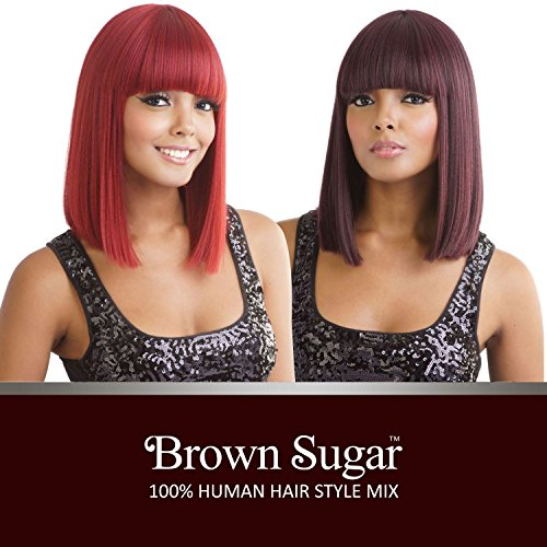 ISIS Human Hair Blend Wig Brown Sugar BS136 (1)