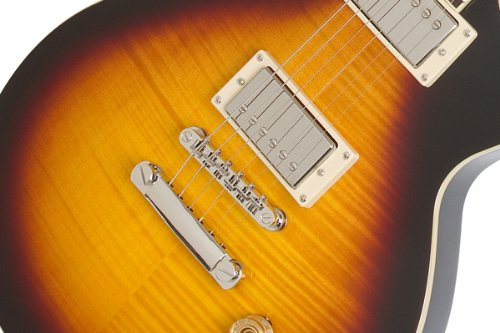 Epiphone Les Paul ''TRIBUTE'' Plus Outfit with Gibson '57 Classic Pickups Includes Case, Vintage Sunburst by Epiphone (Image #3)