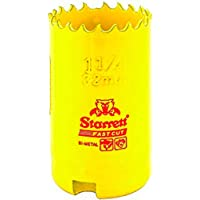 Starrett 63FCH032 Corona perforadora, Amarillo, 32 mm