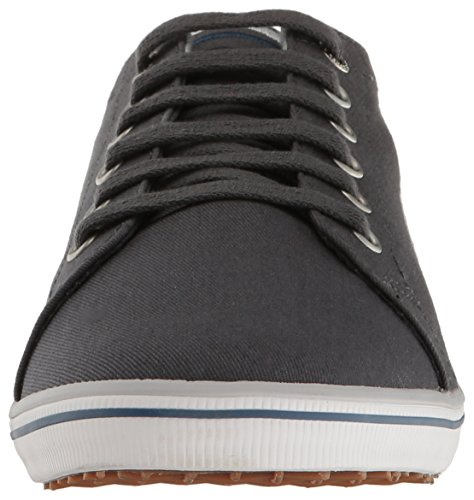 Fred Perry - Kingston Twill - Charcoal (Grau) - Sneaker