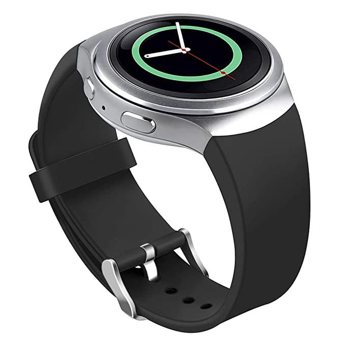 Bandas Compatible Samsung Gear S2 Watch, NaHai Silicona ...