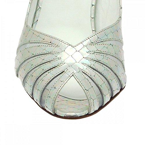Con Renata Tobillo Correa Gris Zapatos Mujer De R5n5qp