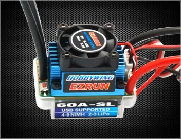 Hobbywing 81010190 Ezrun-60A-SL Esc 1/10 Car RC Hobby Product