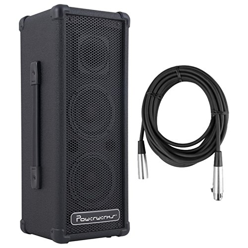 Powerwerks PW50BT 50W Self-Contained PA Bluetooth Enabled w/ XLR Cable