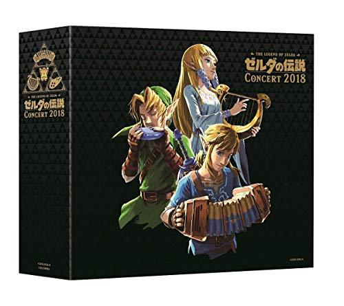 Legend Of Zelda Concert 2018 (Limited Edition) (Original Soundtrack) (Best Limited Edition Games)