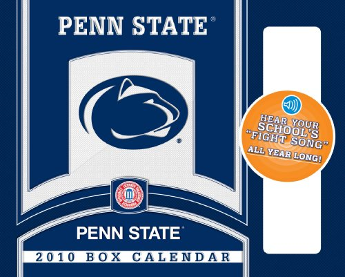 Penn State Nittany Lions - Box  With Sound 2010 Box Calendar - State 2010 Box Calendar