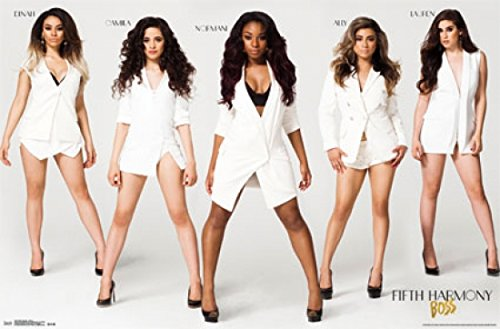 Fifth Harmony Poster - Boss Stance Print