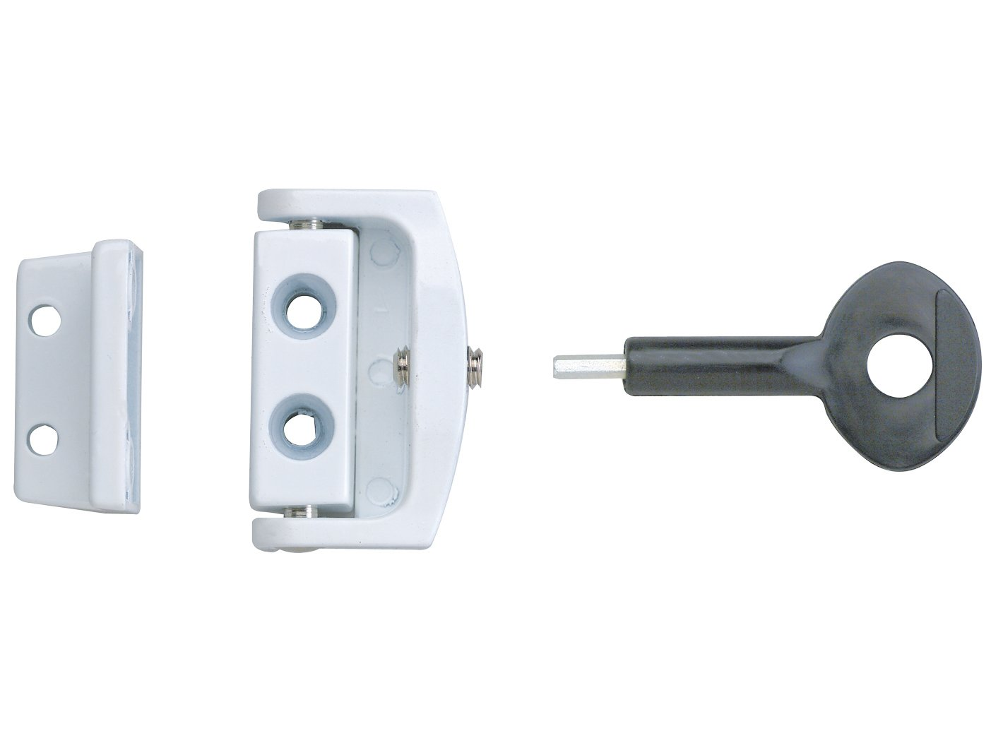 Yale Locks P113 Toggle Window Locks White (2 Pack) YALP2P113WE