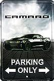 HANGTIME Camaro Parking Only 8 X 12 Metal Parking Sign