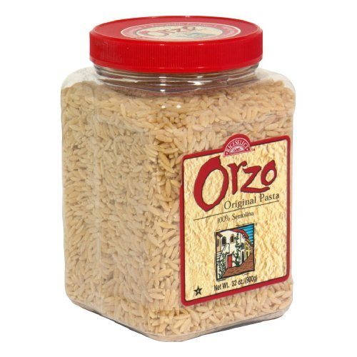 Rice Select Orzo Traditional Plain Pasta, 26.5 Ounce - 4 per case.