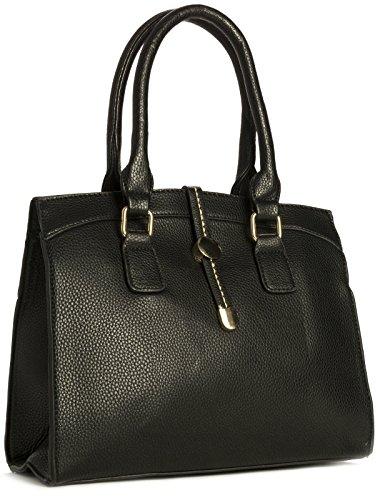 in Various Vegan Leather Handbag Black Design Design Size Satchel Womens Handle Shop Top Bag Big Medium Shoulder 2 IwO4qnR7wt