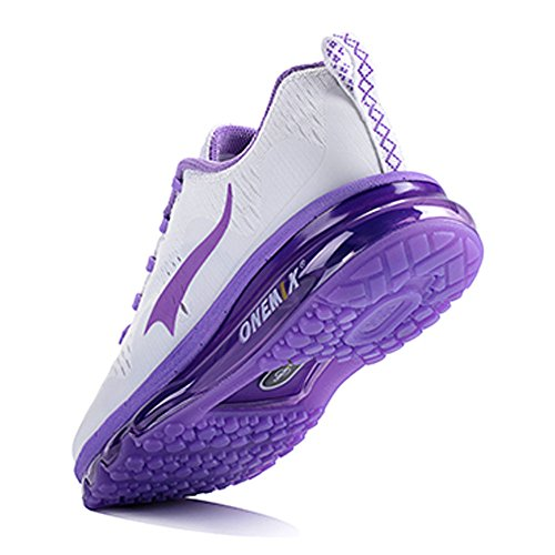 popular online ONEMIX Air Cushion Sports Running Shoes for Men and Women New Wave Casual Walking Sneakers Purple visit cheap online free shipping hot sale best prices CSYFDBfnh