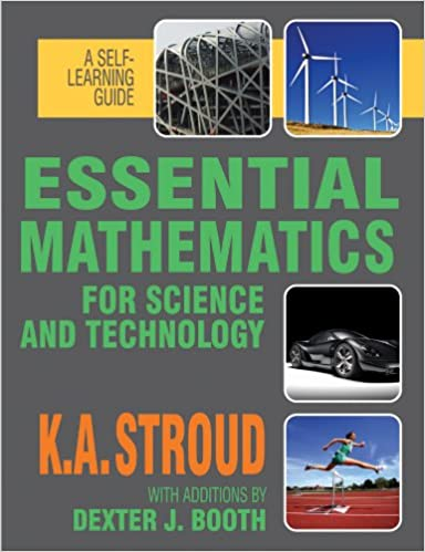 Essential Mathematics For Science And Technology A Self Learning