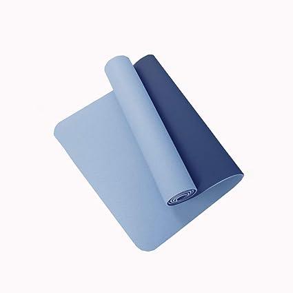 Amazon.com : KKCD-Fitness Mat TPE Exercise Mat Yoga Mat ...