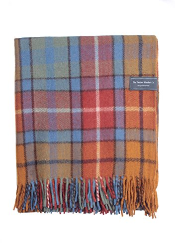 The Tartan Blanket Co.. Recycled Wool Blanket Buchanan Antique Tartan (68
