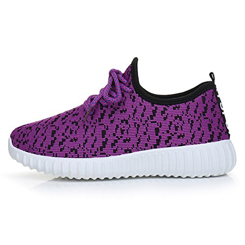 Chaussures Respirant Casual Molleton Violet Athltique Femmes Baskets Fereshte De Running Sport 60qnRx7ww