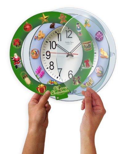 New For 5 IN 1 Musical Clock 12