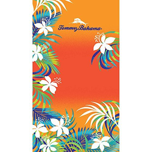Tommy Bahama Beach Towels - Tommy Bahama Beach Towel, Features Tropical Grove Design, Absorbent and Soft, Dimension 40