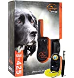 SportDog SD-425 Waterproof Shock Collar with Dog Training Clicker and Dog Whistle