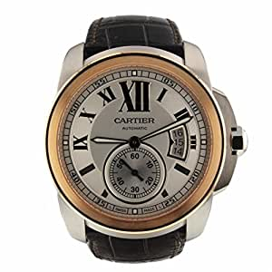 Cartier Calibre de Cartier Automatic-self-Wind Male Watch W7100039 (Certified Pre-Owned)