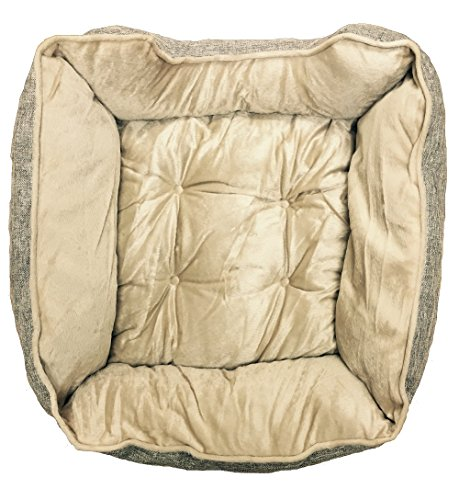 ramie-plush-pet-bed-19x19x7-light-brown