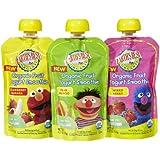 Earth's Best Organic Fruit Yogurt Smoothie Variety Pack - 6 CT