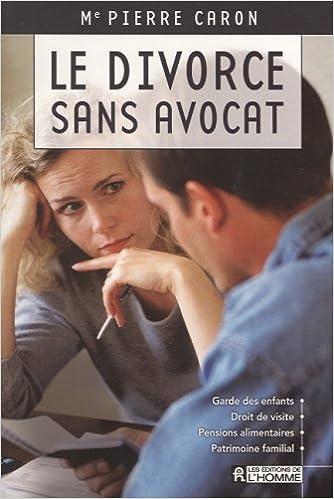 Le Divorce Sans Avocat Amazon Ca Pierre Caron Books