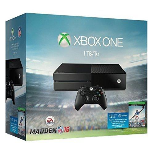 Xbox One 1TB Console - Madden NFL 16 Bundle -  Microsoft