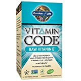 Cheap Garden of Life Vitamin E – Vitamin Code Raw E Vitamin 250 IU Whole Food Supplement with A, D, K and Selenium, Vegetarian, 60 Capsules