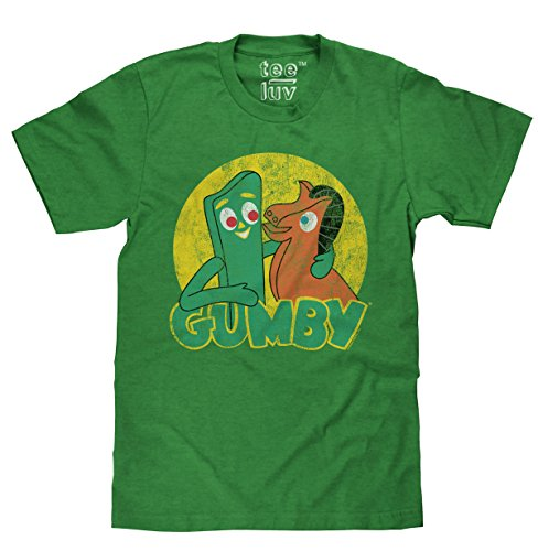 Gumby & Pokey Faded Logo | Soft Touch (Gumby And Pokey Tshirt)
