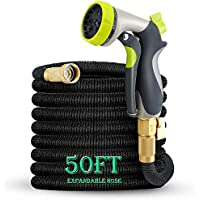 50ft Garden Hose, TOONOON All New Expandable Water Hose...
