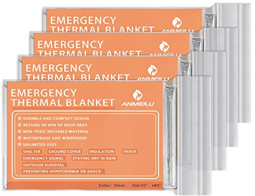 ANMEILU Emergency Mylar Thermal