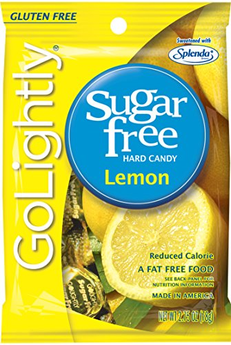 (Go Lightly Lemon Sugar Free Hard Candy, 2.75 Ounce (Pack of)