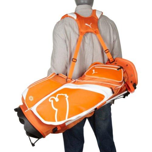 ab65f4a7ec Buy Puma Monoline Stand Bag (Vibrant Orange