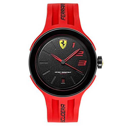 Ferrari Men's 830220 FXX Logo-Accented Watch with Red Band -  Alliance Time