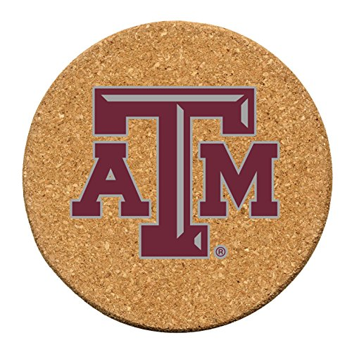 Thirstystone Texas A and M University Cork Coaster Set