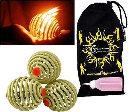 Review Fyrefli fire juggling balls